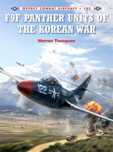 Boek: F9F Panther Units of the Korean War (Osprey)