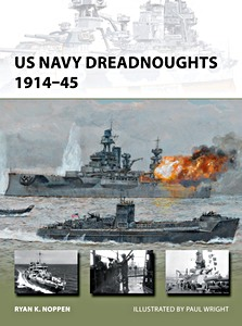 Livre : US Navy Dreadnoughts 1914-45 (Osprey)