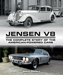 Boek: Jensen V8 : The Complete Story of the American-Powered Cars