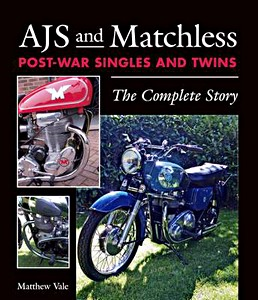 Livre : AJS and Matchless Post-War Singles and Twins : The Complete Story
