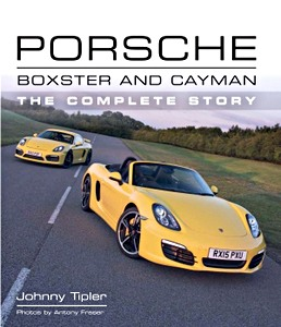 Livre : Porsche Boxster and Cayman : The Complete Story