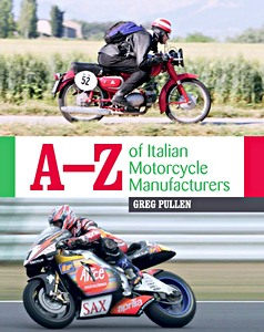 Livre : A-Z of Italian Motorcycle Manufacturers