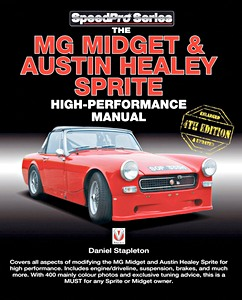 Boek: The MG Midget & Austin-Healey Sprite High Performance Manual (Veloce SpeedPro)