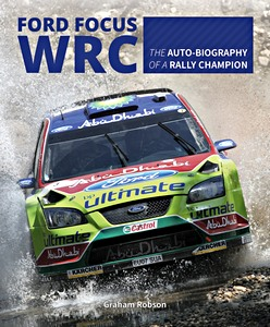 Boek: Ford Focus WRC - The auto-biography of a rally champion