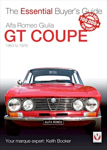 Boek: Alfa Romeo Giulia GT Coupe (1963-1976) - The Essential Buyer's Guide