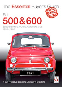 Livre : Fiat 500 & 600 - The Essential Buyer's Guide