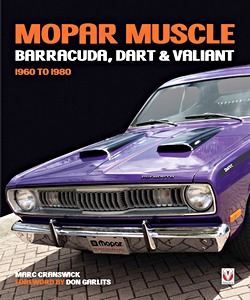Boek: Mopar Muscle - Barracuda, Dart & Valiant 1960-1980
