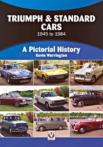 Boek: Triumph & Standard Cars 1945 to 1984 : A Pictorial History