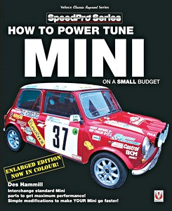 Boek: How to Power Tune Minis on a Small Budget (Veloce SpeedPro)
