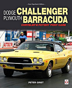 Boek: Dodge Challenger & Plymouth Barracuda - Chrysler's Potent Pony Cars