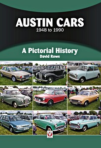 Boek: Austin Cars 1948 to 1990 : A Pictorial History