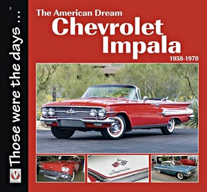 Boek: The American Dream - The Chevrolet Impala 1958-1971