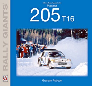 Boek: Peugeot 205 T16 (Rally Giants)
