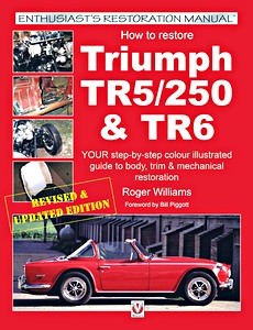Boek: How to restore: Triumph TR5 / TR250 & TR6 - Your step-by-step color illustrated guide to body, trim & mechanical restoration (Veloce Enthusiast's Restoration Manual)