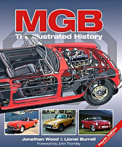 Boek: MGB - The Illustrated History (4th Edition)