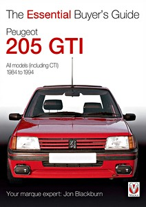 Boek: Peugeot 205 GTi - All models, including CTI (1984-1994) - The Essential Buyer's Guide