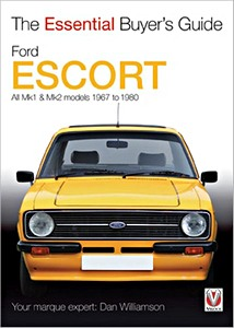 Boek: Ford Escort - All Mk1 & Mk2 models (1967-7/1980) - The Essential Buyer's Guide