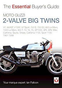 Livre : Moto Guzzi 2-Valve Big Twins (1967-1998) - The Essential Buyer's Guide