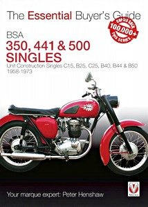 Livre : BSA 350, 441 & 500 Singles (1968-1973) - The Essential Buyer's Guide