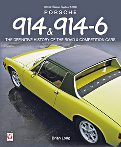 Boek: Porsche 914 & 914-6 : The Definitive History of the Road & Competition Cars