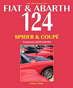 Boek: Fiat & Abarth 124 Spider & Coupe