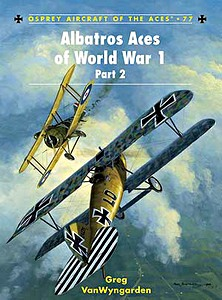 Boek: Albatros Aces of World War 1 (Part 2) (Osprey)