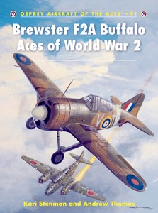 Boek: Brewster F2A Buffalo Aces of World War 2 (Osprey)