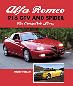 Boek: Alfa Romeo 916 GTV and Spider - The Complete Story
