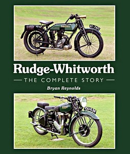 Livre : Rudge-Whitworth - The Complete Story
