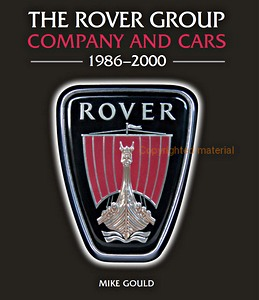 Boek: The Rover Group : Company and Cars - 1986-2000