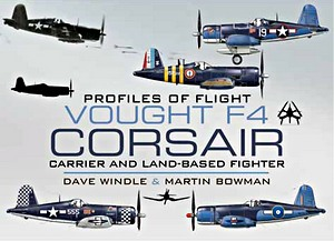 Boek: Vought F4 Corsair - Carrier and Land-Based Fighter (Profiles of Flight)