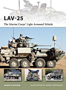 Boek: LAV-25 - The Marine Corps' Light Armored Vehicle (Osprey)