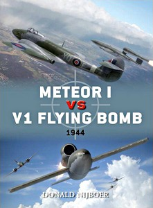 Boek: Meteor I vs V1 Flying Bomb - 1944 (Osprey)