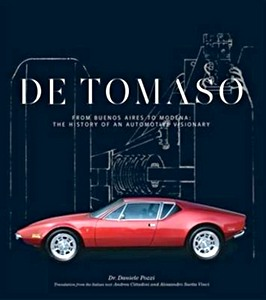 Boek: De Tomaso : from Buenos Aires to Modena, the History of an Automotive Visionary
