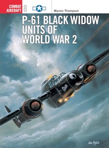 Boek: P-61 Black Widow Units of World War 2 (Osprey)