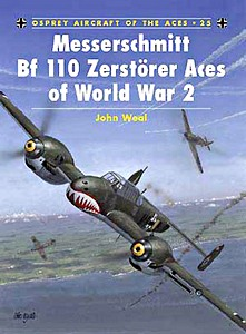 Boek: Messerschmitt Bf 110 Zerstörer Aces of World War 2 (Osprey)