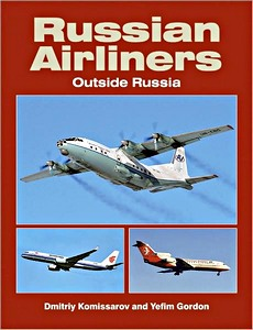Boek: Russian Airliners Outside Russia