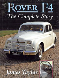 Boek: Rover P4 : The Complete Story