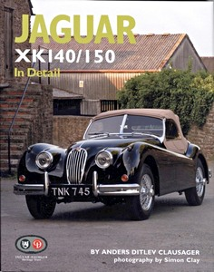 Boek: Jaguar XK140 / 150 in Detail
