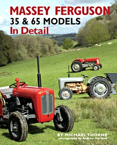 Boek: Massey-Ferguson 35 & 36 Models in Detail