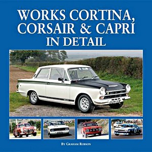 Boek: Works Cortina, Capri & Corsair in Detail