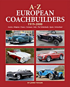 Boek : A-Z of European Coachbuilders, 1919-2000