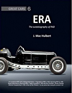 Boek: ERA : The autobiography of R4D (Great Cars)