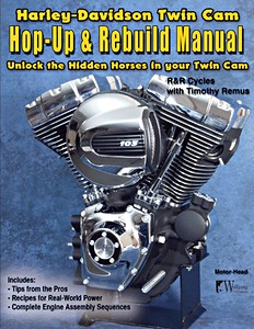 Livre : Harley-Davidson Twin Cam - Hop-Up & Rebuild Manual