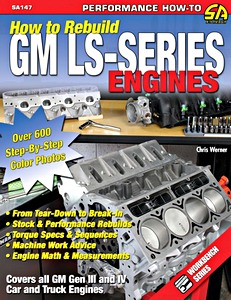 Livre : How to Rebuild GM LS-Series Engines - All GM Gen III and IV Car and Truck Engines