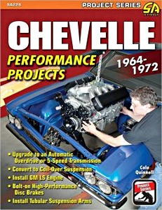 Boek: Chevelle Performance Projects (1964-1972)