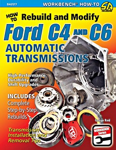 Boek: How to Rebuild and Modify Ford C4 and C6 Automatic Transmissions