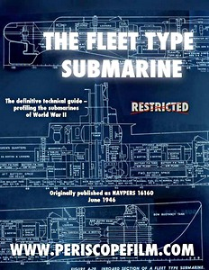 Livre : The Fleet Type Submarine - The definitive technical guide - profiling the submarines of World War II