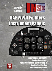 Boek : RAF WWII Fighters Instrument Panels