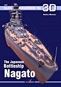 Livre : The Japanese Battleship Nagato (Super Drawings in 3D)